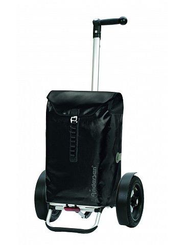 Taška na kolečkách Andersen TURA SHOPPER® ORTLIEB, nafukovací kolečka s kuličkovými ložiskami, černá