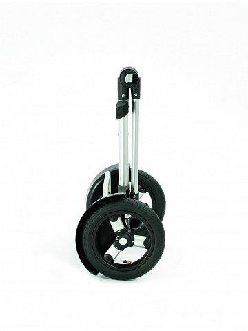Taška na kolečkách Andersen TURA SHOPPER® FADO, nafukovací kolečka s kuličkovými ložisky, zelená