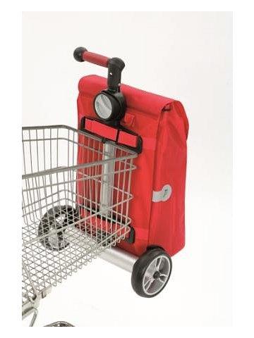 Nákupní taška Andersen UNUS SHOPPER® PEPE, stříbrná