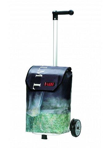 Taška na kolečkách Andersen UNUS SHOPPER® TRUCK A7 - taška z použité plachty nákladních vozidel - každá taška unikát!