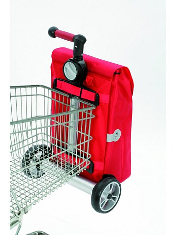 Nákupní taška Andersen UNUS SHOPPER® HARON, bordóvá