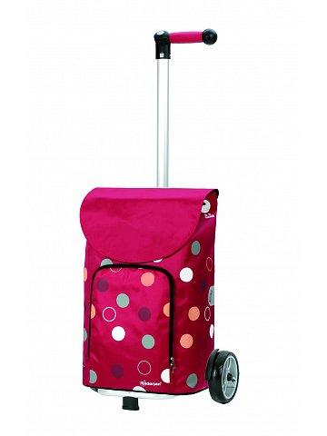 Nákupní taška Andersen UNUS SHOPPER® KIRA, červená