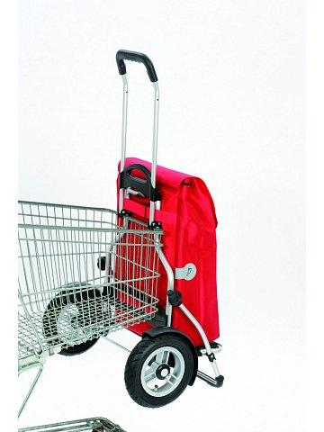 Taška na kolečkách Andersen ROYAL SHOPPER® PLUS HYDRO, nafukovací kola, červená