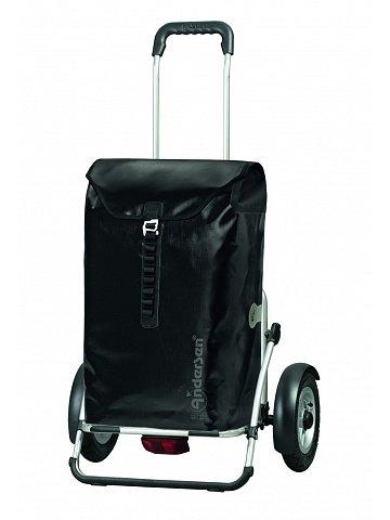 Taška na kolečkách Andersen ROYAL SHOPPER® PLUS ORTLIEB, nafukovací kolečka, černá