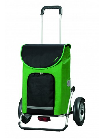 Taška na kolečkách Andersen ROYAL SHOPPER® PLUS CLINT, nafukovací kolečka, zelená