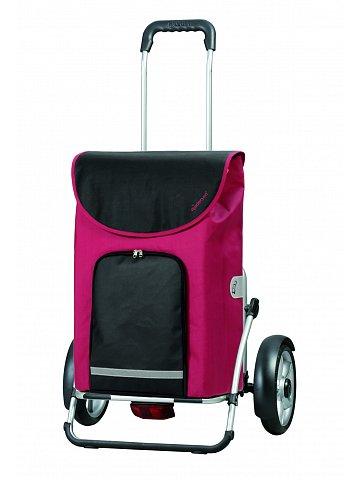 Nákupní taška na kolečkách Andersen ROYAL SHOPPER® PLUS CLINT, červená