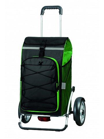 Nákupní taška na kolečkách Andersen ROYAL SHOPPER® PLUS FADO, zelená