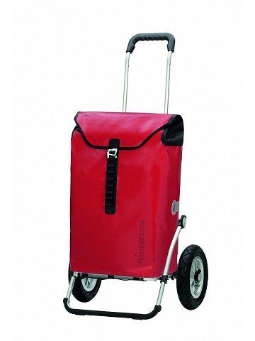 Andersen ROYAL SHOPPER® ORTLIEB, červená, nafukovací kolečka s kuličkovými ložisky