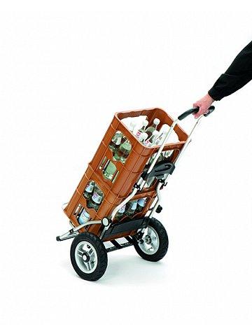 Andersen ROYAL SHOPPER® KIRA, stříbrná, nafukovací kolečka s kuličkovými ložisky