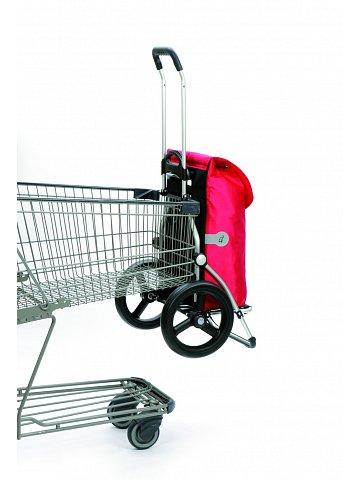 Andersen ROYAL SHOPPER® HYDRO, červená, kolečko s kul. ložisky, průměr 29 cm