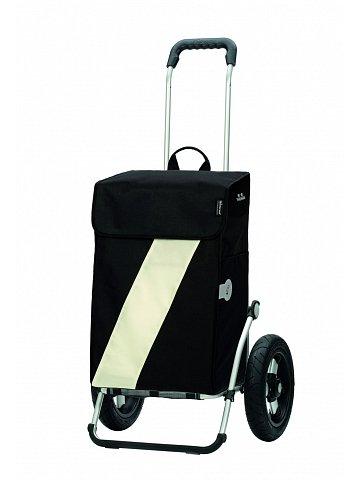 Andersen ROYAL SHOPPER® VIKA, černá+bílá, nafukovací kol. s kul. ložisky, průměr 29 cm