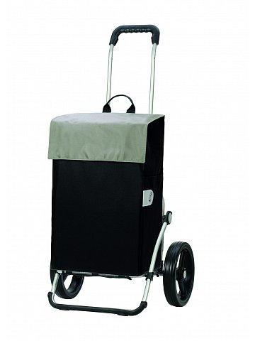 Taška na kolečkách Andersen ROYAL SHOPPER® HERA, stříbrná,kolečko standard, 44l