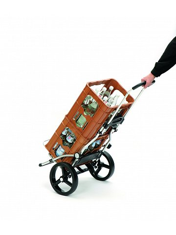 Taška na kolečkách Andersen ROYAL SHOPPER® HERA, červená,kolečko standard, 44l