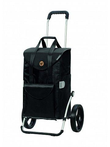 Taška na kolečkách Andersen ROYAL SHOPPER® SENTA, černá, kolečko standard, 49l