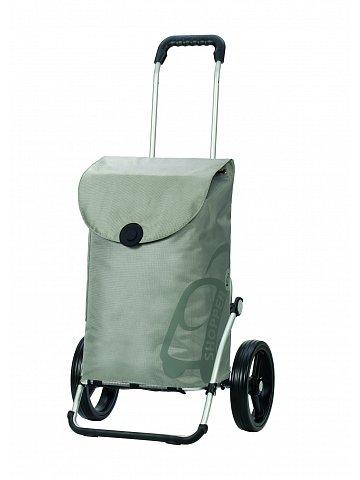 Taška na kolečkách Andersen ROYAL SHOPPER® PEPE, stříbrná,kolečko standard, 39l