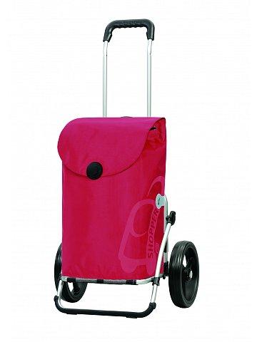Andersen ROYAL SHOPPER® PEPE, červená, kolečko standard