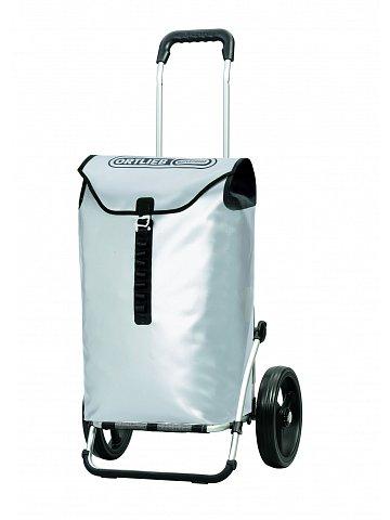 Luxusní taška na kolečkách Andersen ROYAL SHOPPER® ORTLIEB,stříbrná,kolečko standard, 49l