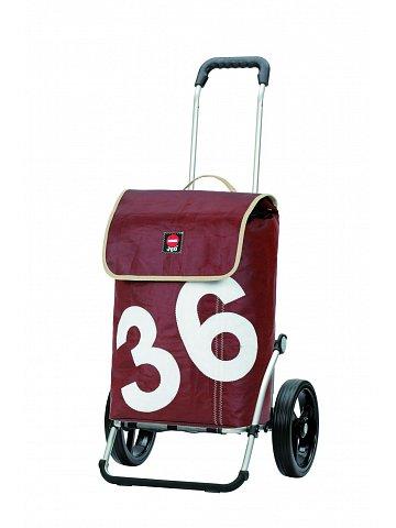 Nákupní taška Andersen ROYAL SHOPPER® 360° LUV 36, kolečko standard, hnědá