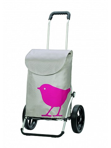 Andersen ROYAL SHOPPER® BIRD,růžová,kolečko standard