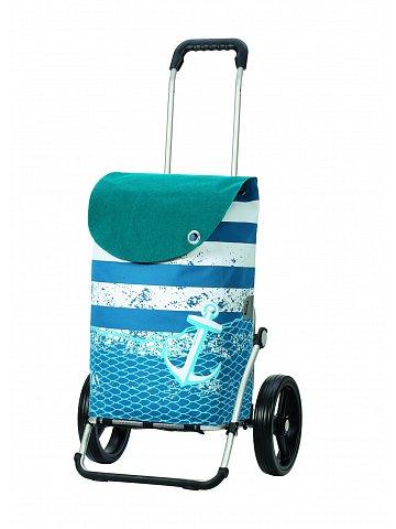 Taška na kolečkách Andersen ROYAL SHOPPER® MEER, modrá,kolečko standard, 39l