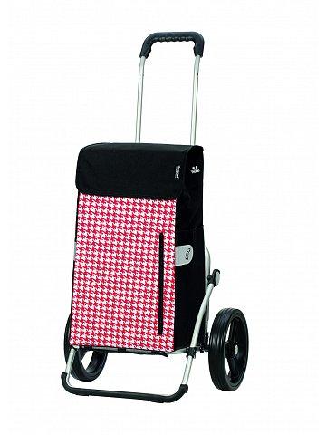 Taška na kolečkách Andersen ROYAL SHOPPER® TILLY, červená,kolečko standard, 43l