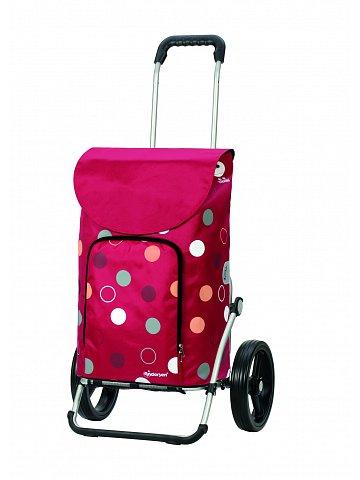 Taška na kolečkách Andersen ROYAL SHOPPER® KIRA, červená,kolečko standard, 41l