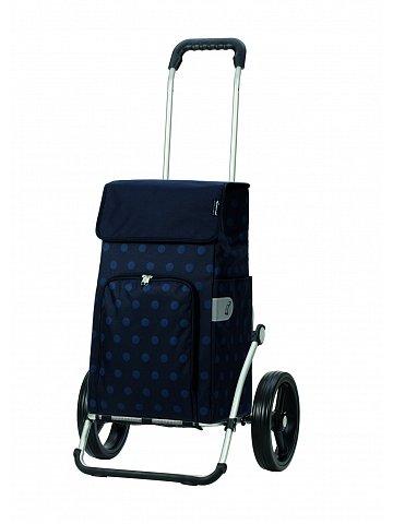 Taška na kolečkách Andersen ROYAL SHOPPER® LIZZY, modrá,kolečko standard, 43l