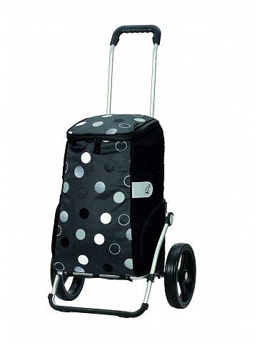 Taška na kolečkách Andersen ROYAL SHOPPER® SILA, šedá,kolečko standard, 40l