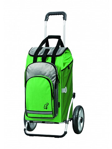 Taška na kolečkách Andersen ROYAL SHOPPER® HYDRO, zelená, kolečko s kul.ložisky