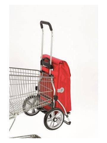 Taška na kolečkách Andersen ROYAL SHOPPER® HYDRO, červená, kolečko s kul.ložisky