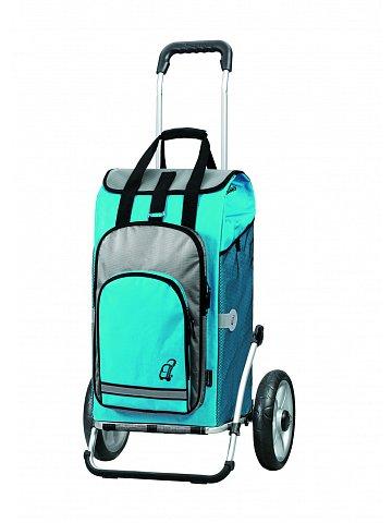 Taška na kolečkách Andersen ROYAL SHOPPER® HYDRO, modrá, 62l, kolečka s kul.ložisky