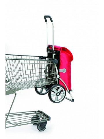 Nákupní taška Andersen ROYAL SHOPPER® 360° LEE 42, hnědá, kolečko s kul. ložisky