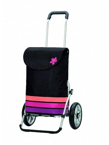 Andersen ROYAL SHOPPER® BLOM, růžová, kolečko s kul. ložisky