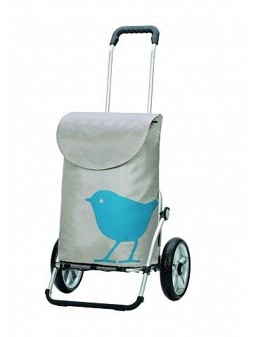 Andersen ROYAL SHOPPER®  BIRD, tyrkysová, kolečko s kul. ložisky
