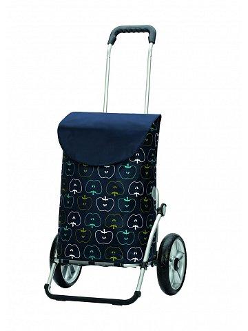 Taška na kolečkách Andersen ROYAL SHOPPER® HAVA, modrá, kolečko s kul. ložisky
