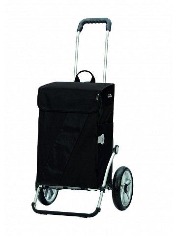 Taška na kolečkách Andersen ROYAL SHOPPER® VIKA, černá, kolečko s kul. ložisky