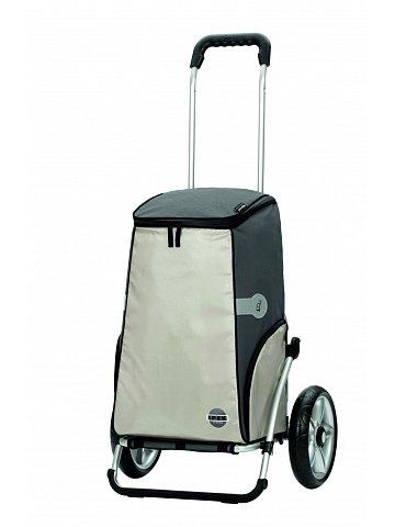 Nákupní taška na kolečkách Andersen ROYAL SHOPPER® IPEK, komplet termofunkce, stříbrná