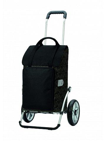 Taška na kolečkách Andersen ROYAL SHOPPER® MIMI, černá, kolečko s kul. ložisky