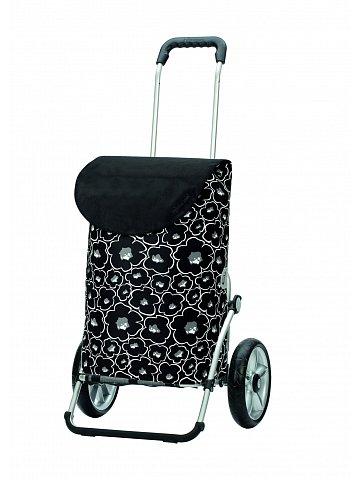 Taška na kolečkách Andersen ROYAL SHOPPER® LILO, černá, kolečko s kul. ložisky