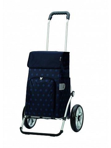 Taška na kolečkách Andersen ROYAL SHOPPER® LIZZY, modrá, kolečko s kul. ložisky