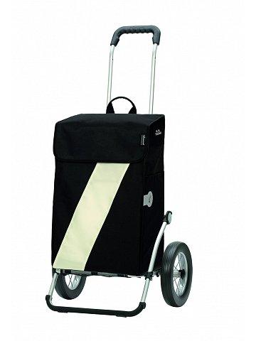 Taška na kolečkách Andersen ROYAL SHOPPER® VIKA, bílá, kolečko ocel. drát