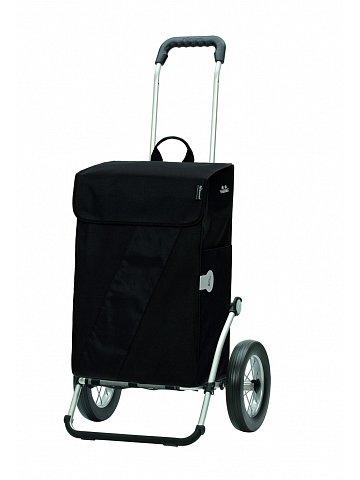 Taška na kolečkách Andersen ROYAL SHOPPER® VIKA, černá, kolečko ocel. drát