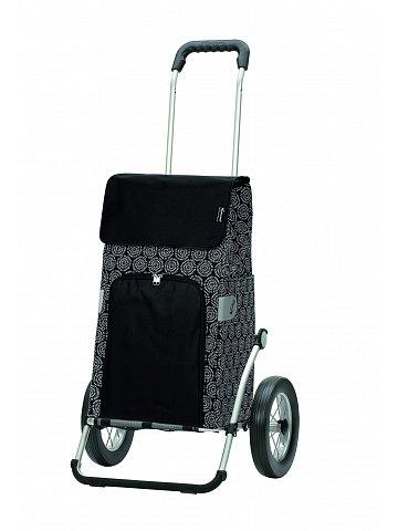 Taška na kolečkách Andersen ROYAL SHOPPER® HENNI, černá, kolečko ocel. drát