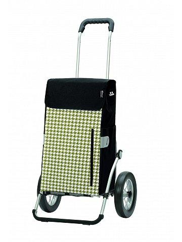 Taška na kolečkách Andersen ROYAL SHOPPER® TILLY, zelená, kolečko ocel. drát