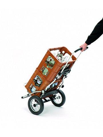 Taška na kolečkách Andersen ROYAL SHOPPER® TILLY, červená, kolečko ocel. drát