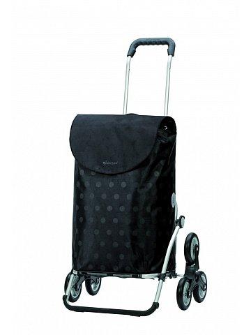 Nákupní taška Andersen TREPPENSTEIGER ROYAL SHOPPER® GITTI - DO SCHODŮ, černá