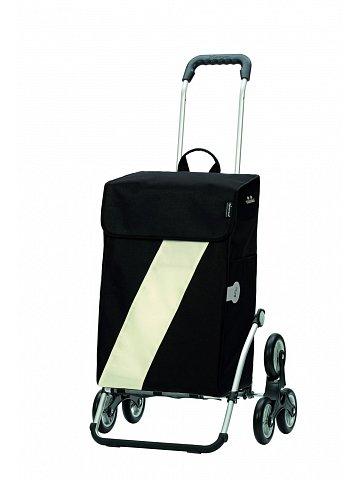 Nákupní taška Andersen TREPPENSTEIGER ROYAL SHOPPER® VIKA - DO SCHODŮ, bílá
