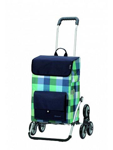 Nákupní taška Andersen TREPPENSTEIGER ROYAL SHOPPER® RIVA - DO SCHODŮ, modrá