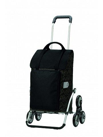Nákupní taška Andersen TREPPENSTEIGER ROYAL SHOPPER® MIMI - DO SCHODŮ, černá