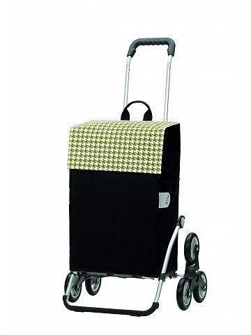 Nákupní taška Andersen TREPPENSTEIGER ROYAL SHOPPER® IKO - DO SCHODŮ, zelená